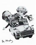 Brian Murphy GEORGE & MILDRED  Genuine  signed Autograph 10x8 COA 11428